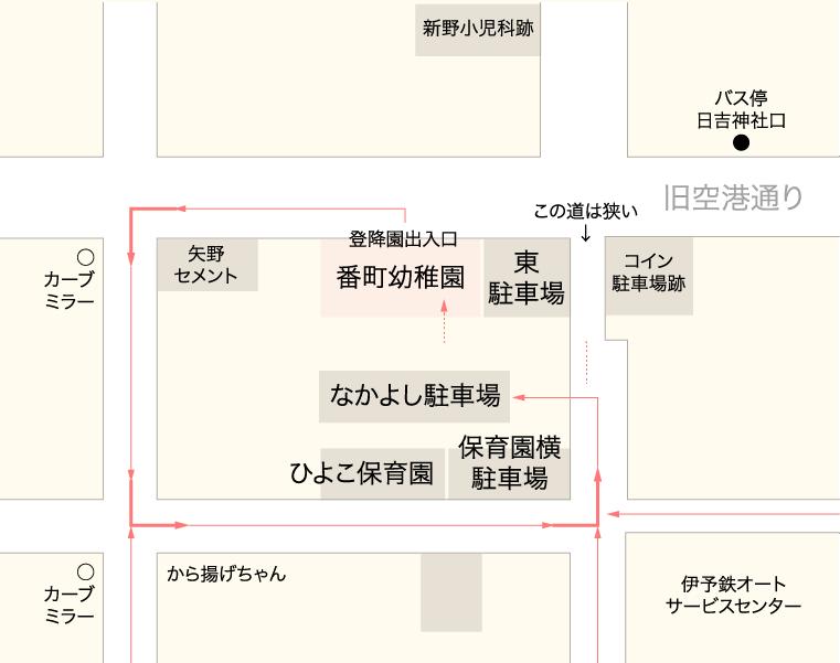 番町幼稚園 周辺地図